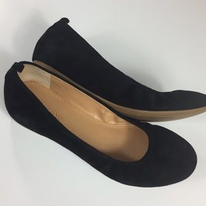 Anya Suede Ballet Flats By J. Crew